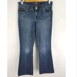 7 For All Mankind Jeans Sz 28 Medium Boot Cut